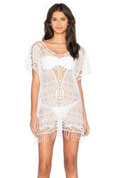 Le Salty Label Aurora Kaftan White
