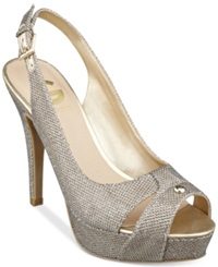 G By Guess Women's Cathy Slingback Platform Pumps Women's Shoes