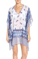 Tommy Bahama Women's Tomma Paisley Terrace Cover Up Tunic