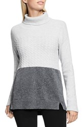 Vince Camuto Women's Two By Colorblock Turtleneck