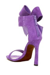 Betsey Johnson Friskyy Ankle Bow Dress Sandal Purple