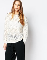 Selected Vintage Lace Blouse Jetstream