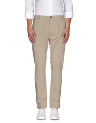 One Seven Two Trousers Casual Trousers Men Beige