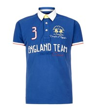 La Martina England Team Polo Shirt Male