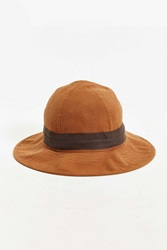 Rosin Tall Crown Bucket Hat Brown