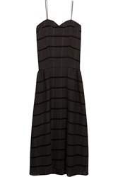Studio Nicholson Bradford Striped Wool Blend Dress
