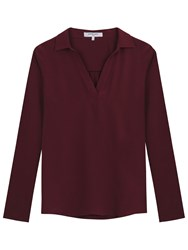 Gerard Darel Tina T Shirt Dark Red
