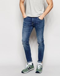 Lee Jeans Malone Superstretch Super Skinny Fit Common Blue Mid Wash Common Blue