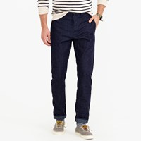 J.Crew Wallace And Barnes Chino In Raw Selvedge Denim