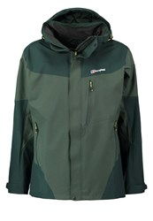 Berghaus Arran Hardshell Jacket Scarab Deep Forest Black