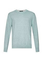 French Connection Julep Printed Crew Neck Jumper Light Green