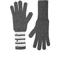 Thom Browne Men's Cashmere Gloves Grey