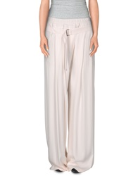 Ann Demeulemeester Casual Pants White