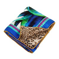 Roberto Cavalli Flaubert Silk Throw 001 130X180cm