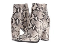 Seychelles Accordion Black White Python Women's Boots Metallic