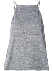 Shades Of Grey By Micah Cohen Cropped Tank Top