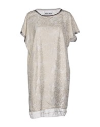 Brand Unique Topwear T Shirts Women Light Grey