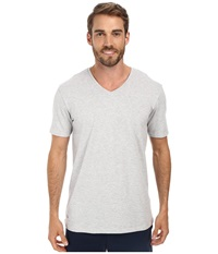 Lacoste Pique Lounge Short Sleeve Pique Light Grey Melange Men's Short Sleeve Pullover Gray