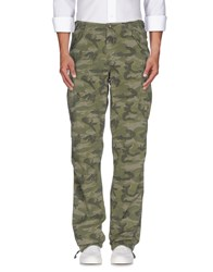 40Weft Trousers Casual Trousers Men Military Green
