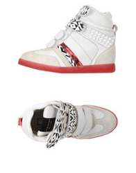 High Tops And Trainers White