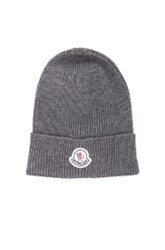Moncler Beanie In Gray