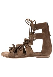 Kennel Schmenger Elle Sandals Cigaro Brown