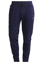 Lyle And Scott Pearce Tracksuit Bottoms Navy Blue