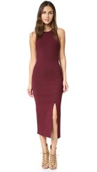 Elizabeth And James Ritter Sleeveless Dress Bordeaux