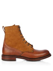 Cheaney Scott Shearling Lined Leather Boots