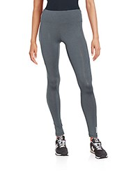 Reebok Skinny Fit Paneled Sweatpants Charcoal