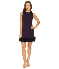 Rsvp Jackie Ruffle Bottom Dress Plum Women's Dress Purple