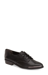 Fergie 'Invert' Oxford Women Black Leather