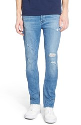 Men's Hudson Jeans 'Sartor' Distressed Slouchy Skinny Fit Jeans Frontman
