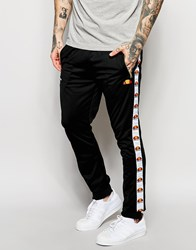 Ellesse Skinny Joggers With Taping Black