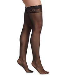 Cosabella Trenta Thigh High Stockings Women's Size Medium Black