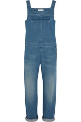 Mih Jeans Grace Denim Overalls Blue