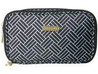 Baggallini Vienna Case Basket Weave Cosmetic Case Multi