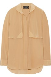 By Malene Birger Michala Silk Shirt Nude