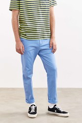 Urban Outfitters Uo Easton Skinny Stretch Chino Pant Sky