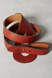 Anthropologie Taya Looped Belt Brown