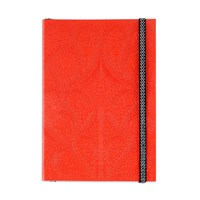 Christian Lacroix A5 Paseo Embossed Notebook Scarlet