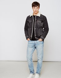 Levi's Type 3 Sherpa Trucker Jacket Grey