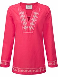Craghoppers Clemence Long Sleeved Top Pink