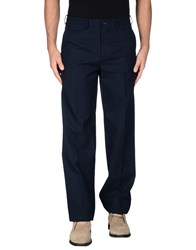 Mp Massimo Piombo Trousers Casual Trousers Men Dark Blue