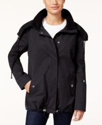 Styleandco. Style Co. Hooded Twill Jacket Only At Macy's Deep Black