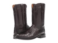 Lucchese Dustin Black Cowboy Boots