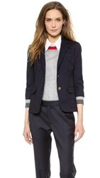 Band Of Outsiders Two Button Schoolboy Jacket Navy