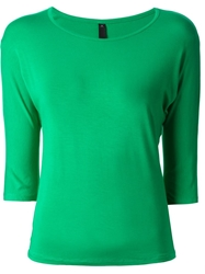 Labour Of Love Kimono Sleeve T Shirt Green