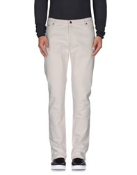 Moschino Denim Denim Trousers Men White