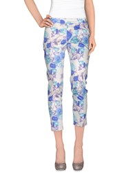 X's Milano Trousers Casual Trousers Women Sky Blue